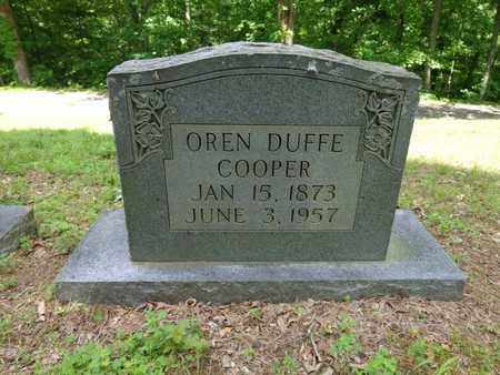 COOPER, OREN DUFFE - Lewis County, Tennessee | OREN DUFFE COOPER - Tennessee Gravestone Photos