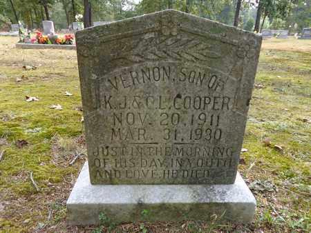 COOPER, VERNON - Lewis County, Tennessee | VERNON COOPER - Tennessee Gravestone Photos