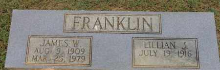FRANKLIN, JAMES W. - Lewis County, Tennessee | JAMES W. FRANKLIN - Tennessee Gravestone Photos
