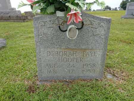 HOOPER, DEBORAH FAYE - Lewis County, Tennessee | DEBORAH FAYE HOOPER - Tennessee Gravestone Photos