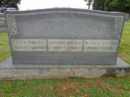 HOOPER, WILLARD - Lewis County, Tennessee | WILLARD HOOPER - Tennessee Gravestone Photos