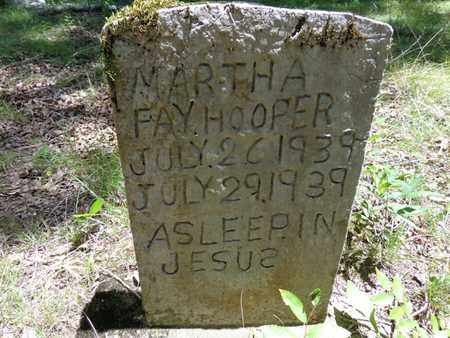 HOOPER, MARTHA FAY - Lewis County, Tennessee | MARTHA FAY HOOPER - Tennessee Gravestone Photos