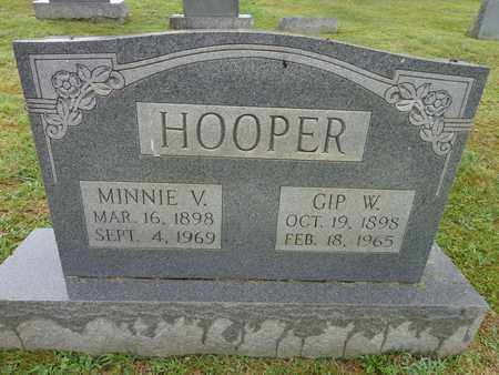 HOOPER, MINNIE V - Lewis County, Tennessee | MINNIE V HOOPER - Tennessee Gravestone Photos