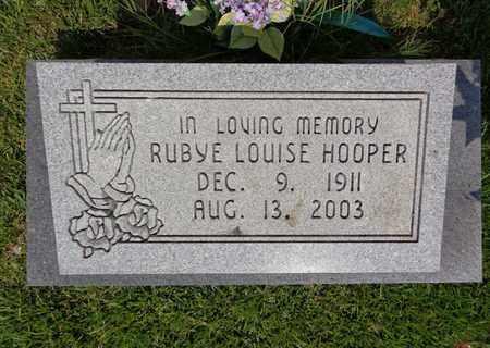 HOOPER, RUBYE LOUISE - Lewis County, Tennessee | RUBYE LOUISE HOOPER - Tennessee Gravestone Photos