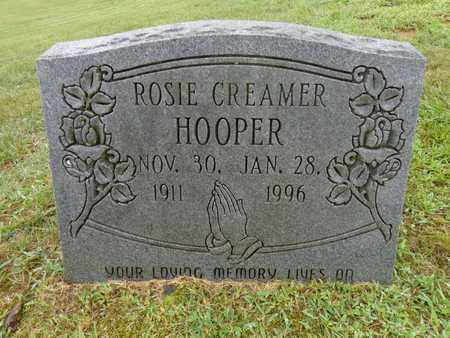 HOOPER, ROSIE CREAMER - Lewis County, Tennessee   ROSIE CREAMER HOOPER - Tennessee Gravestone Photos