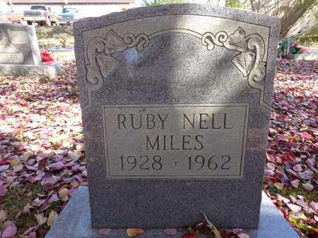 MILES, RUBY NELL - Lewis County, Tennessee   RUBY NELL MILES - Tennessee Gravestone Photos