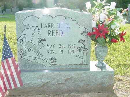 REED, HARRIEL D. - Lewis County, Tennessee | HARRIEL D. REED - Tennessee Gravestone Photos