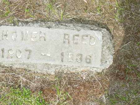 REED, HOMER - Lewis County, Tennessee   HOMER REED - Tennessee Gravestone Photos