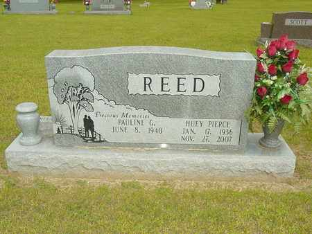 REED, HUEY PIERCE - Lewis County, Tennessee | HUEY PIERCE REED - Tennessee Gravestone Photos