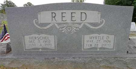 REED, MYRTLE D - Lewis County, Tennessee   MYRTLE D REED - Tennessee Gravestone Photos