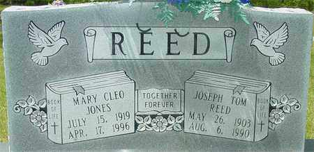 REED, MARY CLEO - Lewis County, Tennessee | MARY CLEO REED - Tennessee Gravestone Photos