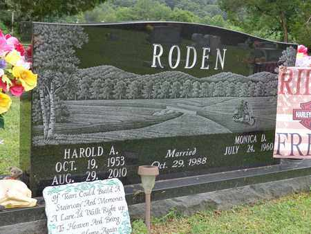 RODEN, HAROLD A - Lewis County, Tennessee | HAROLD A RODEN - Tennessee Gravestone Photos