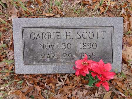 SCOTT, CARRIE H - Lewis County, Tennessee | CARRIE H SCOTT - Tennessee Gravestone Photos