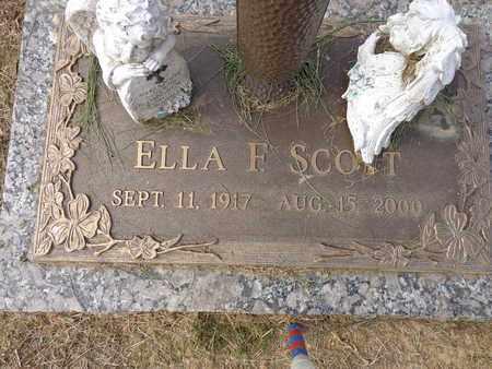 SCOTT, ELLA F. - Lewis County, Tennessee   ELLA F. SCOTT - Tennessee Gravestone Photos