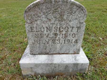 SCOTT, ELON - Lewis County, Tennessee | ELON SCOTT - Tennessee Gravestone Photos