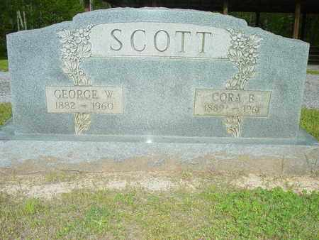 SCOTT, CORA B. - Lewis County, Tennessee | CORA B. SCOTT - Tennessee Gravestone Photos