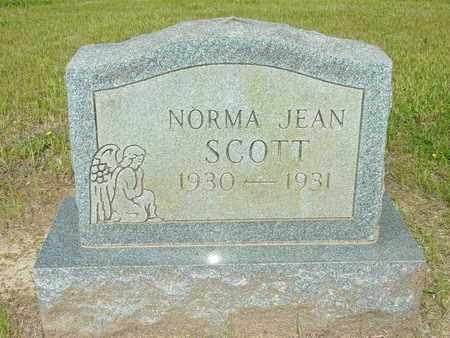 SCOTT, NORMA JEAN - Lewis County, Tennessee | NORMA JEAN SCOTT - Tennessee Gravestone Photos