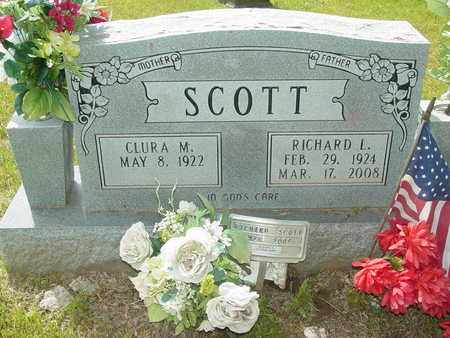 SCOTT, RICHARD L. - Lewis County, Tennessee | RICHARD L. SCOTT - Tennessee Gravestone Photos