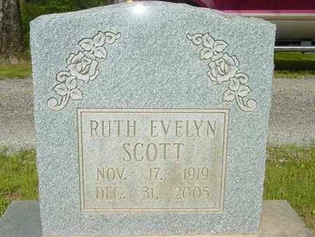 SCOTT, RUTH EVELYN - Lewis County, Tennessee | RUTH EVELYN SCOTT - Tennessee Gravestone Photos