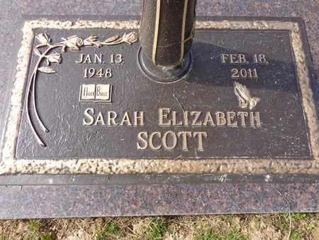 SCOTT, SARAH ELIZABETH - Lewis County, Tennessee | SARAH ELIZABETH SCOTT - Tennessee Gravestone Photos