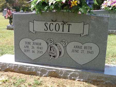 SCOTT, TOBE (JR) - Lewis County, Tennessee | TOBE (JR) SCOTT - Tennessee Gravestone Photos