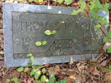 SCOTT, THOMAS H - Lewis County, Tennessee | THOMAS H SCOTT - Tennessee Gravestone Photos