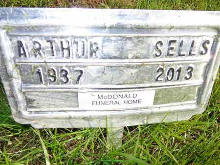 SELLS, ARTHUR - Lewis County, Tennessee | ARTHUR SELLS - Tennessee Gravestone Photos