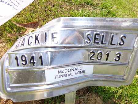 SELLS, JACKIE - Lewis County, Tennessee | JACKIE SELLS - Tennessee Gravestone Photos