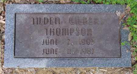 THOMPSON, TILDEN GILBERT - Lewis County, Tennessee | TILDEN GILBERT THOMPSON - Tennessee Gravestone Photos