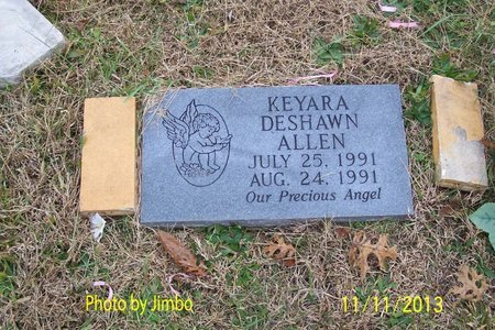ALLEN, KEYARA DESHAWN - Lincoln County, Tennessee | KEYARA DESHAWN ALLEN - Tennessee Gravestone Photos