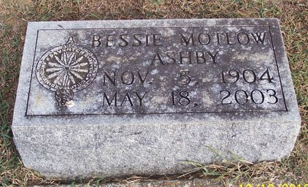 MOTLOW ASHBY, BESSIE - Lincoln County, Tennessee | BESSIE MOTLOW ASHBY - Tennessee Gravestone Photos