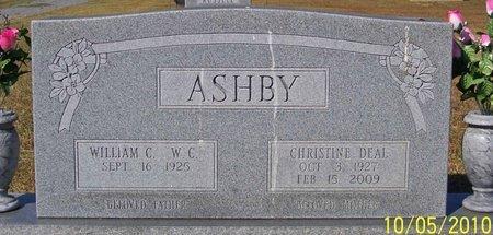 ASHBY, CHRISTINE - Lincoln County, Tennessee   CHRISTINE ASHBY - Tennessee Gravestone Photos