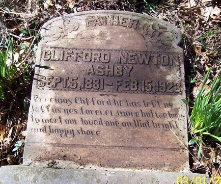 ASHBY, CLIFFORD NEWTON - Lincoln County, Tennessee   CLIFFORD NEWTON ASHBY - Tennessee Gravestone Photos