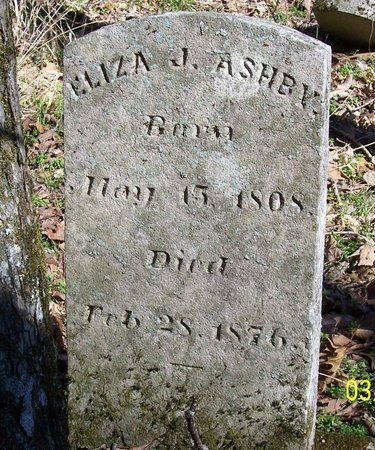ASHBY, ELIZA JANE - Lincoln County, Tennessee | ELIZA JANE ASHBY - Tennessee Gravestone Photos