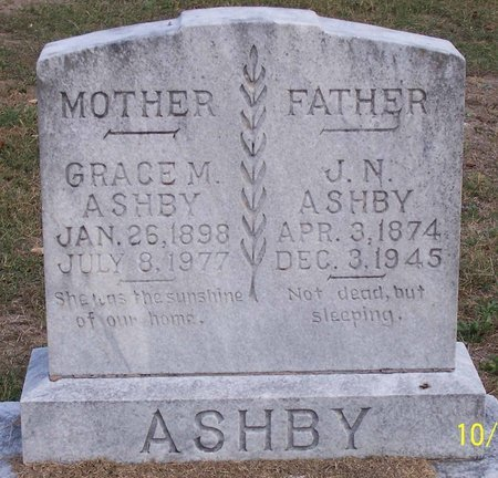 ASHBY, GRACE M. - Lincoln County, Tennessee | GRACE M. ASHBY - Tennessee Gravestone Photos