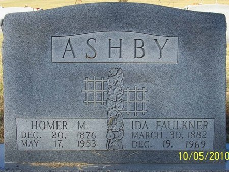 ASHBY, HOMER M. - Lincoln County, Tennessee | HOMER M. ASHBY - Tennessee Gravestone Photos