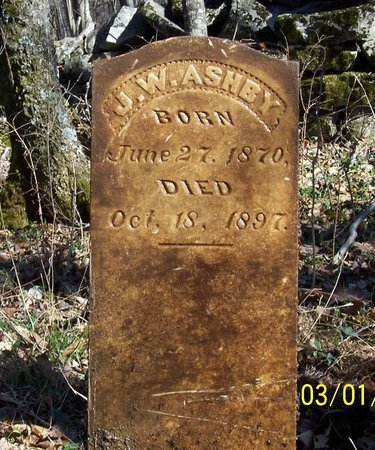 ASHBY, JOHN WILSON - Lincoln County, Tennessee | JOHN WILSON ASHBY - Tennessee Gravestone Photos