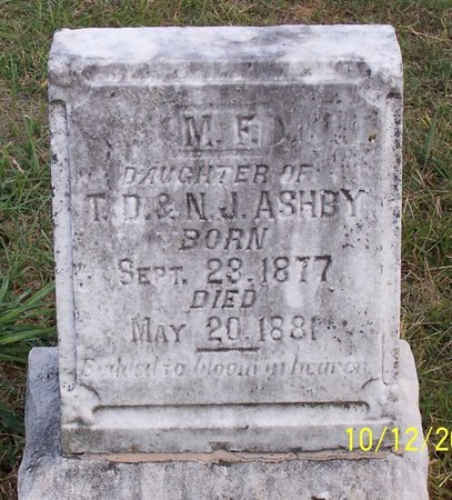 ASHBY, MARY FRANCES - Lincoln County, Tennessee | MARY FRANCES ASHBY - Tennessee Gravestone Photos