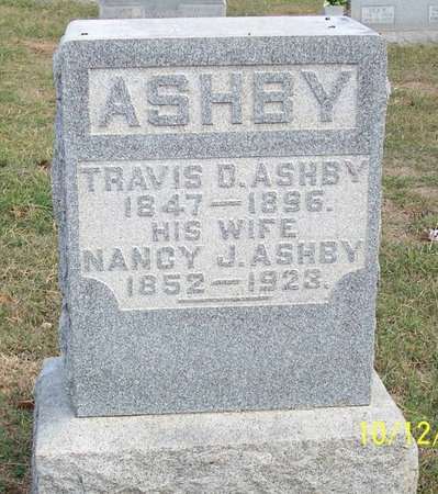 ASHBY, NANCY JANE - Lincoln County, Tennessee | NANCY JANE ASHBY - Tennessee Gravestone Photos
