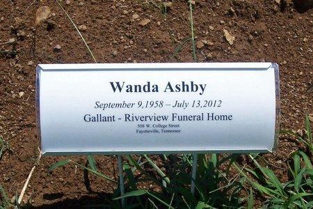 ASHBY, WANDA - Lincoln County, Tennessee | WANDA ASHBY - Tennessee Gravestone Photos