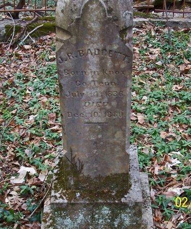BADGETT, J. R. - Lincoln County, Tennessee | J. R. BADGETT - Tennessee Gravestone Photos