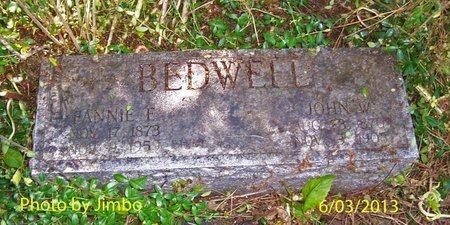 BEDWELL, FANNIE E. - Lincoln County, Tennessee   FANNIE E. BEDWELL - Tennessee Gravestone Photos