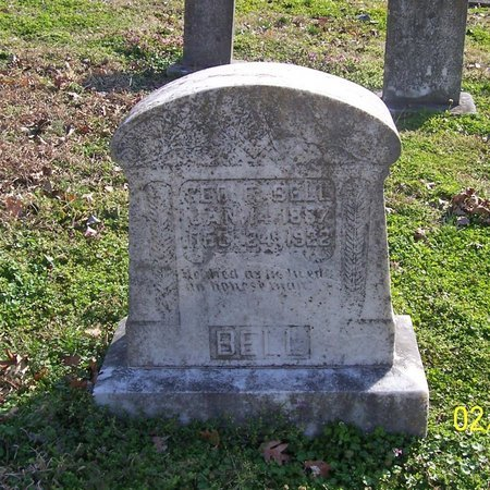 BELL, GEORGE F. - Lincoln County, Tennessee | GEORGE F. BELL - Tennessee Gravestone Photos