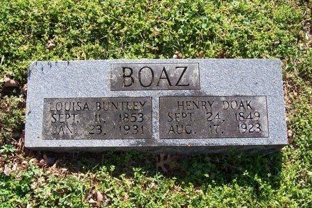 BOAZ, HENRY DOAK - Lincoln County, Tennessee | HENRY DOAK BOAZ - Tennessee Gravestone Photos