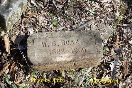 BOAZ, W. B. - Lincoln County, Tennessee   W. B. BOAZ - Tennessee Gravestone Photos