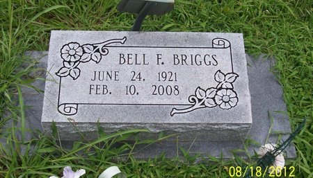 BRIGGS, BELL F. - Lincoln County, Tennessee | BELL F. BRIGGS - Tennessee Gravestone Photos