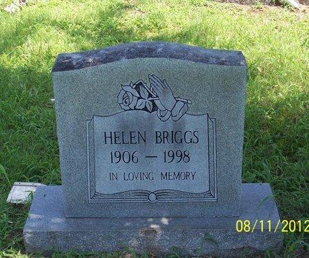 BRIGGS, HELEN - Lincoln County, Tennessee   HELEN BRIGGS - Tennessee Gravestone Photos