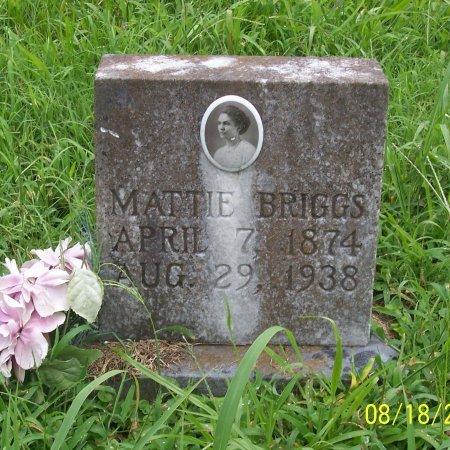 BRIGGS, MATTIE - Lincoln County, Tennessee | MATTIE BRIGGS - Tennessee Gravestone Photos