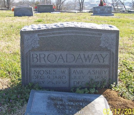 BROADAWAY, AVA - Lincoln County, Tennessee | AVA BROADAWAY - Tennessee Gravestone Photos