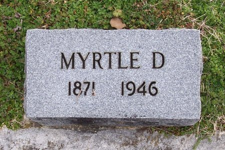 BROGAN, MYRTLE - Lincoln County, Tennessee | MYRTLE BROGAN - Tennessee Gravestone Photos